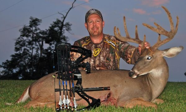 tim herald - trophy whitetail from Salt River Outfitters